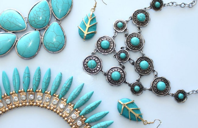 turquoise jewelry collection statementbaubles -2
