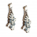 Eris Aurora Blue Opal Starlet Crystal Earrings