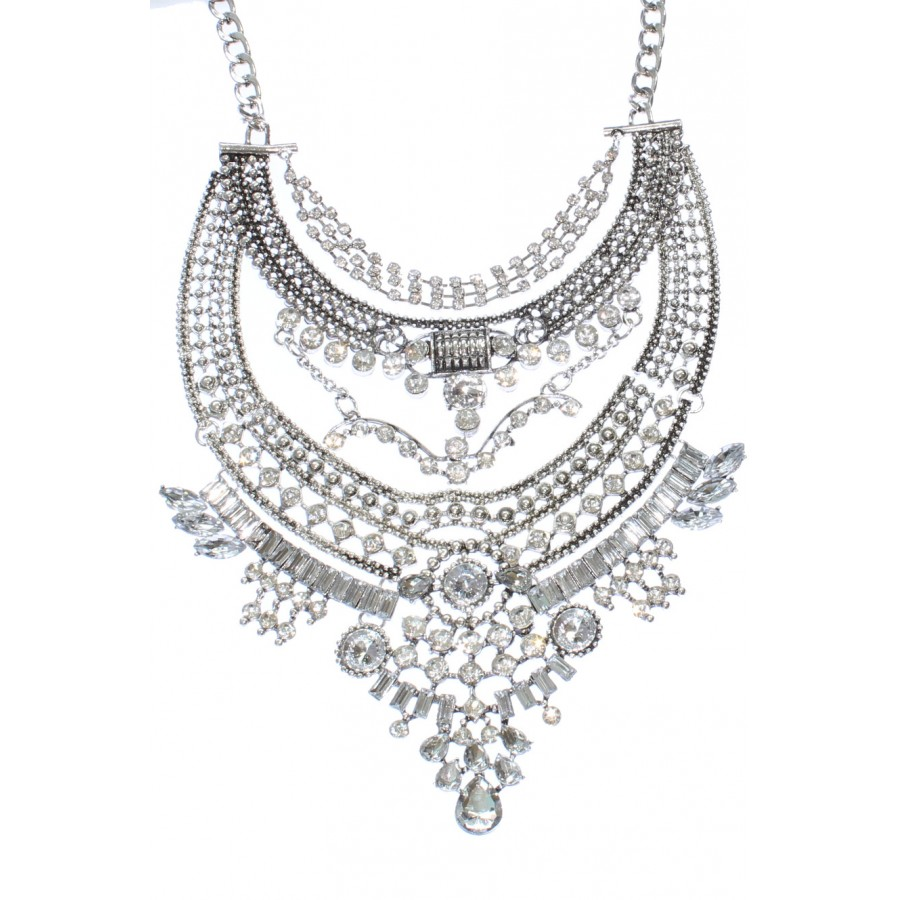 Parisienne Perfection 2 additionally Fall Trend 9 Bullet Necklaces in addition Yazbukey further Falkor Silver Lining Oxidize Crystal Cluster Super Statement Necklace Boho Chic furthermore Philip Lim For Target My Picks. on black pencil skirt leather