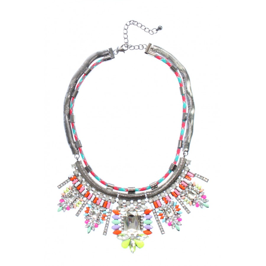 shourouk multicolor tradesy i necklace
