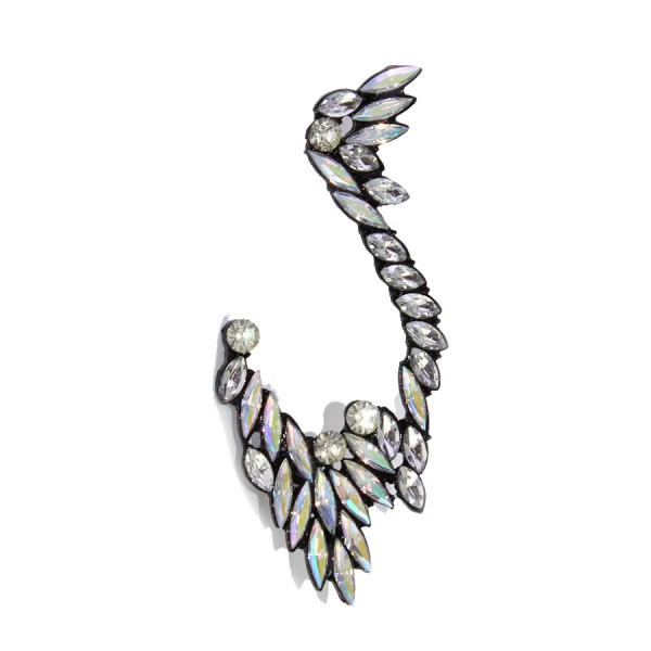 Heiress Aurora Crystal Wing Ear Cuff