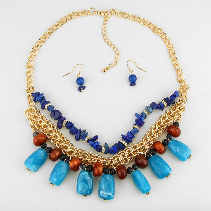 womens stone shop necklace huge long gold s women deal no multi effy on precious kt size semi