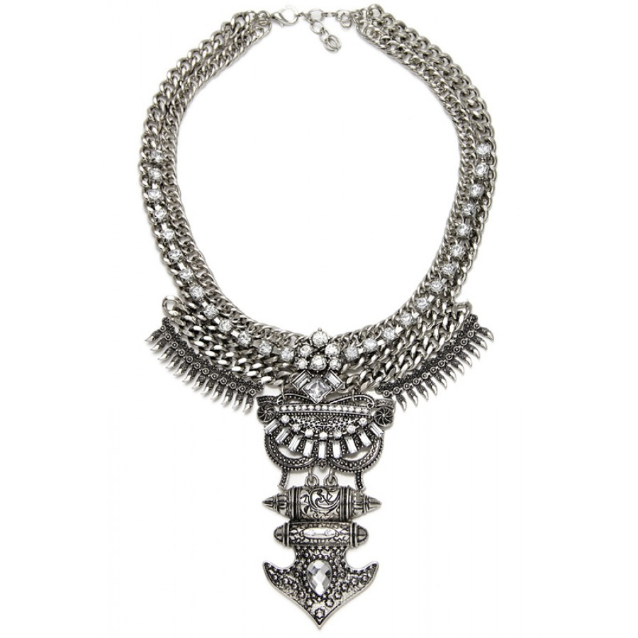 warrior products silver necklace collection sequence