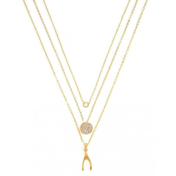 Gold Charm Dainty Layering Necklaces