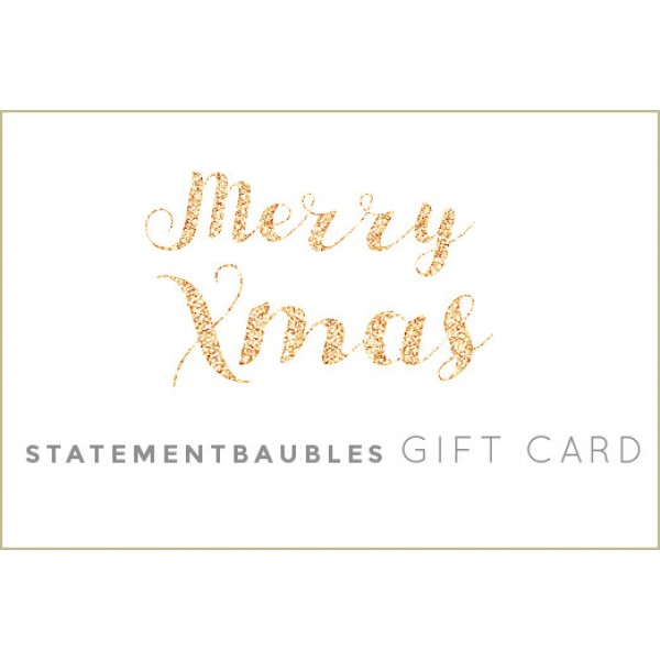 STATEMENT BAUBLES GIFT CARD