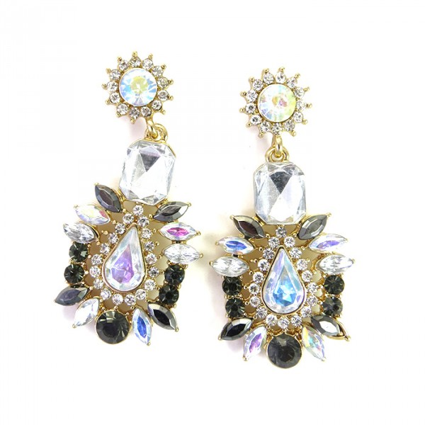 Aurora Soleil Statement Earrings