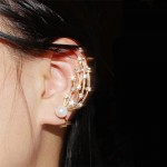 Crystal Shooting Stars Ear Cuff