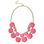 Yellow BaubleBox Double Row Statement Necklace