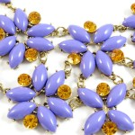 Lilac Baubles Enchanted Garden Floral Necklace