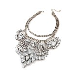 Ice Ice Baby Crystal Cascade Necklace