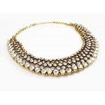 'Princess  ' Sparkly Beaded Crystal Stone Statement Necklace