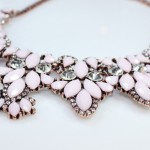 Rosie Blush Gemstones Necklace