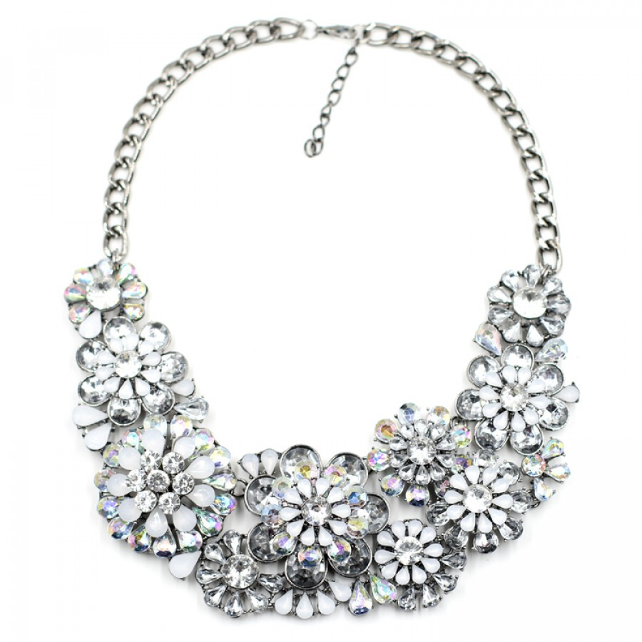 us crystal s statement necklace claire