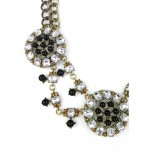 Corin Mix Metals and Crystal Statement Necklace