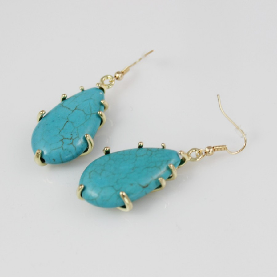 to turquoise turkey jk natural for uses stainless item resin en global hoop rakuten steel post free allergy metal earrings titanium gold surgical change stone market ayulry store