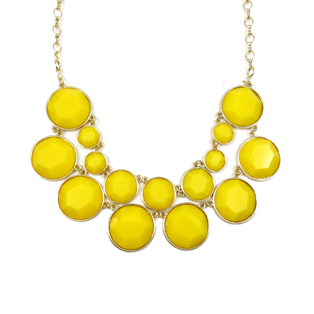 The Necklace And Yellow Wallpaper